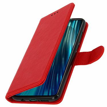 Avizar Etui folio Rouge pour Xiaomi Redmi Note 8 Pro pas cher