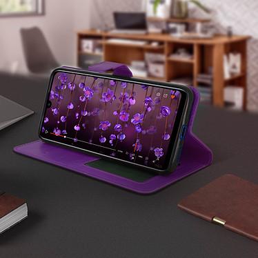 Avis Avizar Etui folio Violet pour Xiaomi Redmi Note 7