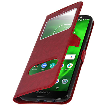 Acheter Avizar Etui folio Rouge pour Motorola Moto G6