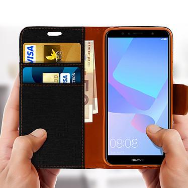 Acheter Avizar Etui folio Noir pour Huawei Y6 2018