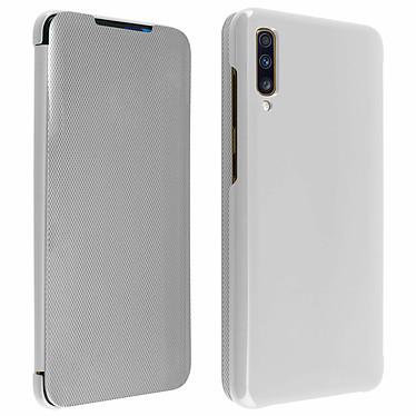 Avizar Etui folio Argent pour Samsung Galaxy A70 Etui folio Argent Samsung Galaxy A70