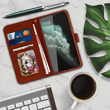 Acheter Avizar Etui folio Marron pour Apple iPhone 11 Pro Max