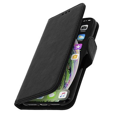 Avizar Etui folio Noir Portefeuille pour Apple iPhone XS Max pas cher