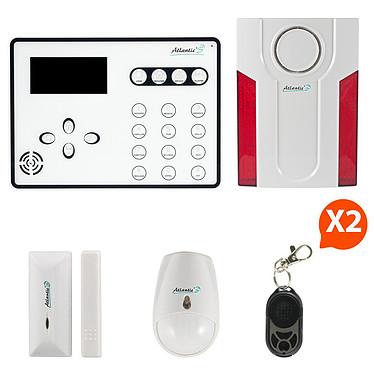 Atlantic'S ATEOS - Alarme de maison sans fil GSM Kit 1A (MD-334R) ATEOS - Alarme de maison sans fil GSM Kit 1A (MD-334R)