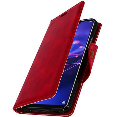 Avizar Etui folio Rouge Sixties pour Huawei Mate 20 Lite pas cher