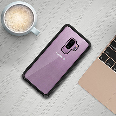Avis Avizar Coque Noir Collection Réglisse pour Samsung Galaxy S9 Plus