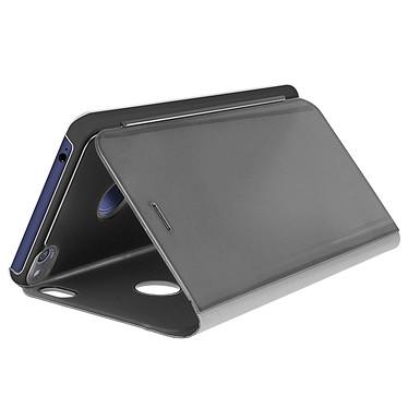 Avizar Etui folio Noir pour Huawei P8 Lite (2017) , Honor 8 Lite pas cher