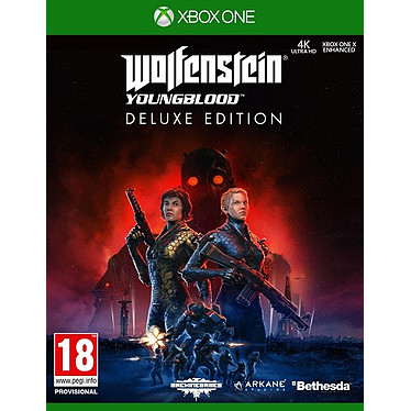 Wolfenstein YoungBlood (XBOX ONE) Jeu XBOX ONE Action-Aventure 18 ans et plus