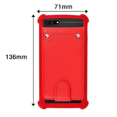 Avis Avizar Coque Rouge pour Compatibles avec Smartphones de 4,7 à 5,0 pouces
