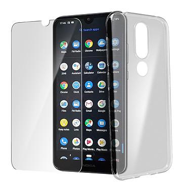 Avizar Pack protection Transparent pour Nokia 4.2 pas cher
