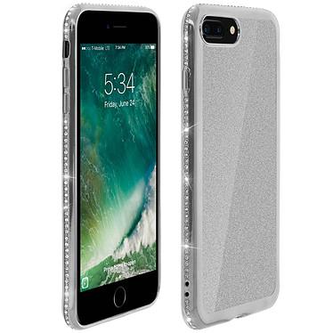 Avizar Coque Argent pour Apple iPhone 7 Plus , Apple iPhone 8 Plus pas cher