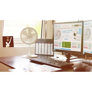 Air and me - Ventilateur de table NAOS Blanc - 49 pas cher