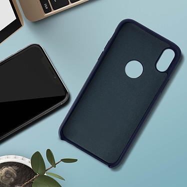 Acheter Avizar Coque Bleu Nuit Semi-Rigide pour Apple iPhone X , Apple iPhone XS