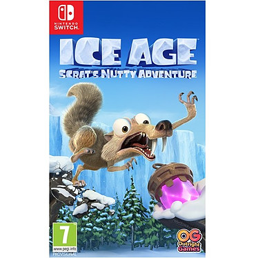 L'Age de Glace : La folle aventure de Scrat (SWITCH) Jeu SWITCH Action-Aventure 7 ans et plus