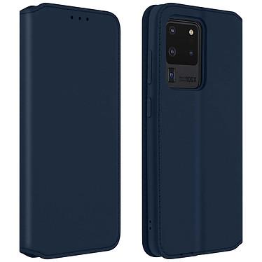 Avizar Etui folio Bleu pour Samsung Galaxy S20 Ultra Etui folio Bleu Samsung Galaxy S20 Ultra