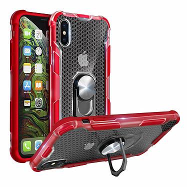 Avizar Coque Rouge Contours Bumper pour Apple iPhone XS Max pas cher