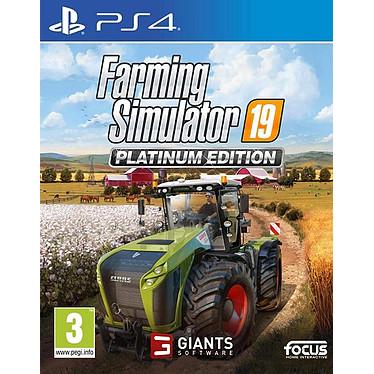 Farming Simulator 19 Platinum Edition (PS4) Jeu PS4 Simulation 3 ans et plus