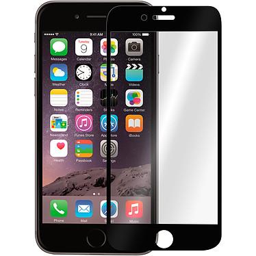 Avizar Film verre trempé Noir pour Apple iPhone 6 , Apple iPhone 6S Film verre trempé Noir Apple iPhone 6 , Apple iPhone 6S