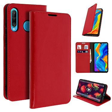 Avizar Etui folio Rouge pour Huawei P30 Lite , Honor 20S , Huawei P30 Lite XL pas cher