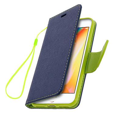 Avizar Etui folio Bleu Nuit pour Apple iPhone 7 , Apple iPhone 8 , Apple iPhone SE 2020 pas cher