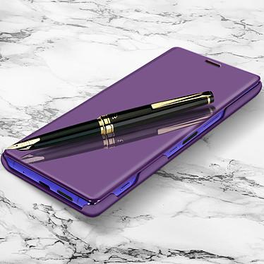 Avizar Etui folio Violet pour Sony Xperia 1 pas cher