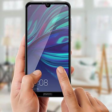 Acheter Avizar Film verre trempé Noir pour Huawei Y7 2019
