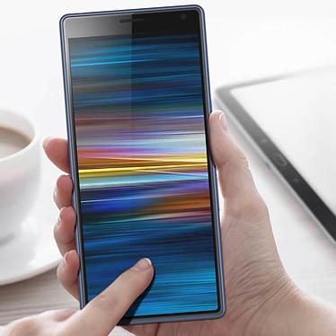 Acheter Avizar Film verre trempé Noir pour Sony Xperia 10 Plus