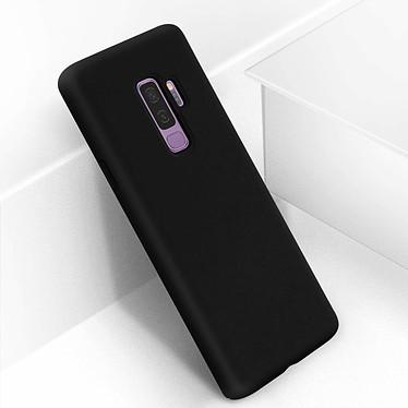 Avizar Coque Noir Semi-rigide pour Samsung Galaxy S9 Plus pas cher