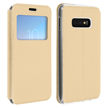 Avizar Etui folio Dorée pour Samsung Galaxy S10e Etui folio Dorée Samsung Galaxy S10e
