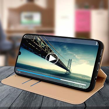 Avis Avizar Etui folio Dorée pour Samsung Galaxy A30