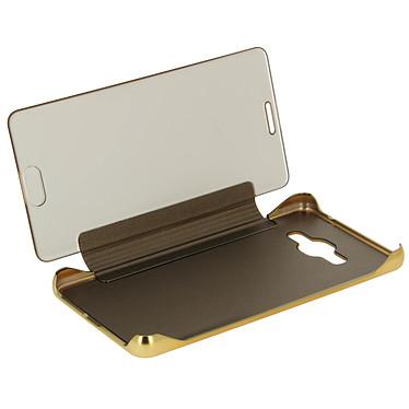 Avizar Etui folio Dorée pour Samsung Galaxy J3 pas cher