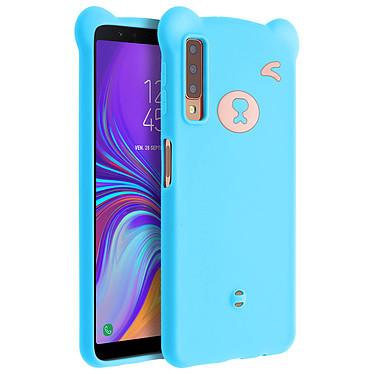 Avizar Coque Bleu pour Samsung Galaxy A7 2018 Coque Bleu Samsung Galaxy A7 2018