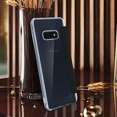 Avis Avizar Etui folio Noir Miroir pour Samsung Galaxy S10e