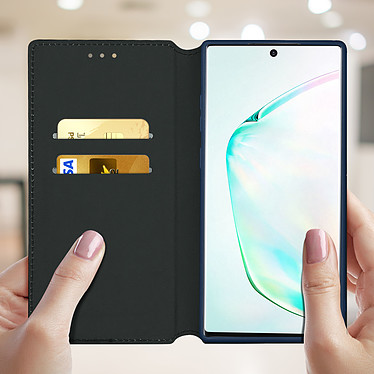 Acheter Avizar Etui folio Bleu Nuit Éco-cuir pour Samsung Galaxy Note 10