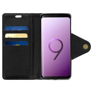 Acheter Avizar Etui folio Noir Éco-cuir pour Samsung Galaxy S9