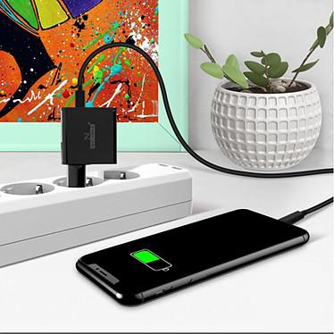 Avis Avizar Chargeur secteur Noir pour Tous les appareils équipés d'un port micro USB