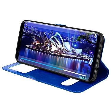 Avis Avizar Etui folio Bleu Éco-cuir pour Samsung Galaxy S8 Plus