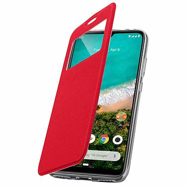 Avizar Etui folio Rouge pour Xiaomi Mi A3 pas cher