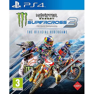 Monster Energy Supercross 3 (PS4) Jeu PS4 Course 3 ans et plus