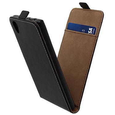 Acheter Avizar Etui à clapet vertical Noir pour Sony Xperia L1