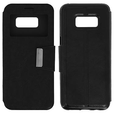 Avizar Etui folio Noir pour Samsung Galaxy S8 Plus pas cher