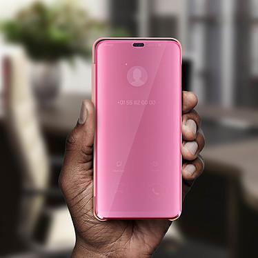 Avis Avizar Etui folio Rose Champagne pour Samsung Galaxy M20