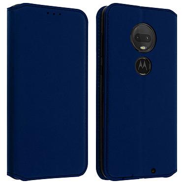 Avizar Etui folio Bleu Nuit pour Motorola Moto G7 , Motorola Moto G7 Plus Etui folio Bleu Nuit Motorola Moto G7 , Motorola Moto G7 Plus