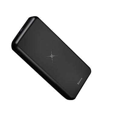 Baseus Batterie externe Chargeur sans fil Qi 10000 mAh Double USB Baseus Noir Batterie externe Chargeur sans fil Qi 10000 mAh Double USB Baseus