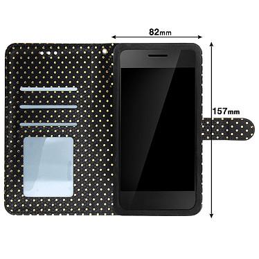Acheter Avizar Etui folio Noir pour Smartphones de 5.5' à 6.0'