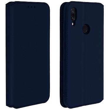 Avizar Etui folio Bleu Nuit pour Xiaomi Redmi Note 7 Etui folio Bleu Nuit Xiaomi Redmi Note 7
