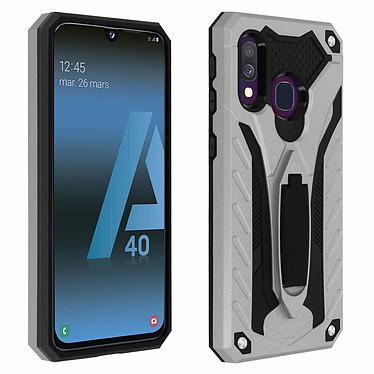 Avizar Coque Argent Hybride pour Samsung Galaxy A40 Coque Argent hybride Samsung Galaxy A40