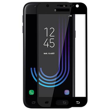 Avizar Film verre trempé Noir pour Samsung Galaxy J7 2017 Film verre trempé Noir Samsung Galaxy J7 2017