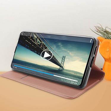 Acheter Avizar Etui folio Rose Champagne Éco-cuir pour Xiaomi Mi 9T , Xiaomi Mi 9T Pro
