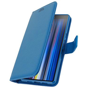 Avizar Etui folio Bleu pour Sony Xperia 10 pas cher